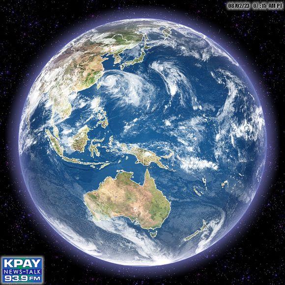 Meteosat East Africa, Saudi Arabia, Indian Ocean